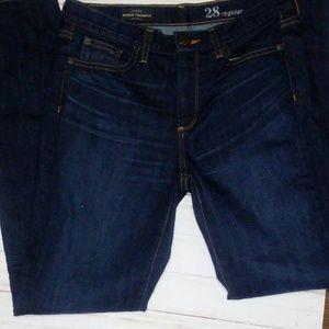 J.crew midrise toothpick jeans